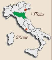 Carte Italie Emilia Romagna.Bologna Monuments And Photographs
